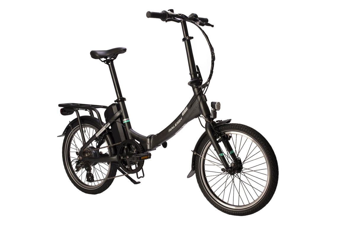 raleigh stow e way folding bike electric. Black Bedroom Furniture Sets. Home Design Ideas
