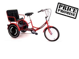 PROBIKE T-800 Child Carrier Trike