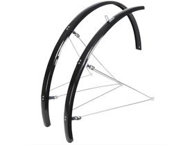 OXFORD 700c/27'' Std Narrow 31mm Mudguards Black /Silver