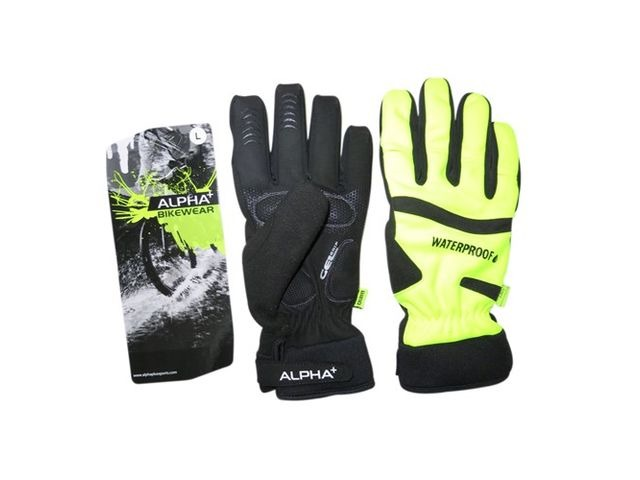 ALPHA PLUS waterproof glove click to zoom image