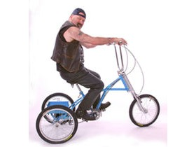 MISSION Triad 20 inch Chopper Trike