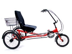 MISSION Semi-Recumbent Trike